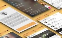 29 mẫu giao diện người dùng cho thiết kế di động