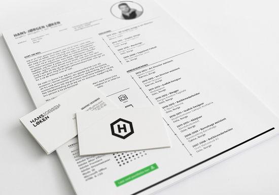resume template2