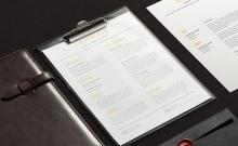 26 mẫu lý lịch giúp bạn cơ hội phát triển nghề nghiệp